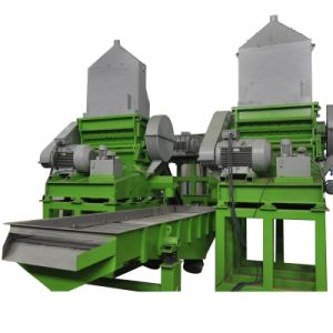 機械をリサイクルするアセンブルされた小型プラスチック造粒機