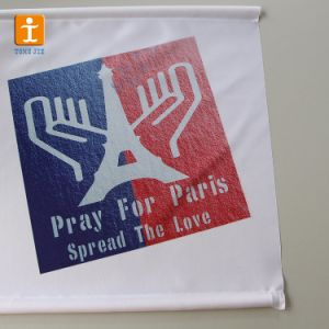 デジタル印刷のアルミニウムハングのスクローリング旗