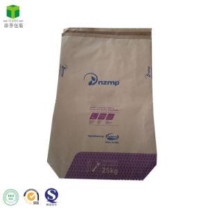 9827fa0ba 25kg de leche en polvo termo de la bolsa de embalaje de papel Kraft bolsas  selladas