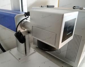 Gravure de métal de la machine machine de marquage au laser à fibre
