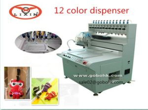 Мягкие резиновые повесить Tag отправление машины 12 Тип цвета