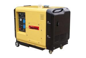 Tipo silenzioso portatile poco costoso generatore di Yarmax 6kVA 7kVA del diesel