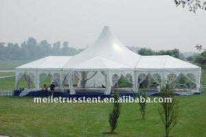 De openlucht Tent van het Huwelijk van het Aluminium Gglass van het Dak van de Partij van de Gebeurtenis van pvc Hoogste