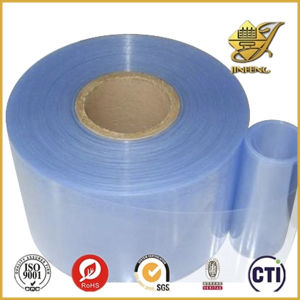 Disque transparente en PVC en rouleau de film