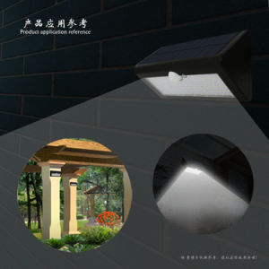 energiesparender Solargarten angeschaltenes im Freienlicht der Wand-66LED