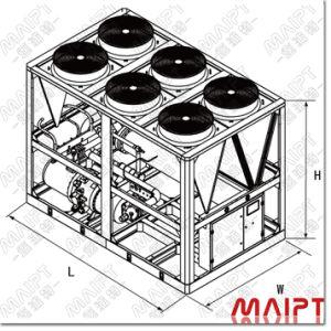 هواء صناعيّ تضمينيّة يبرّد وحدة [شلّر] ([مبس-270.2ك])