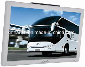 Monitor LCD de barramento de 21,5 polegadas TV a cores com leitor de vídeo