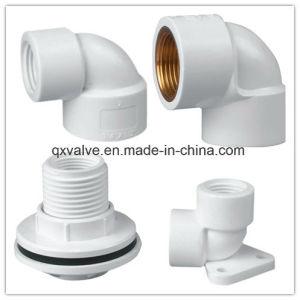 Roscado BSPT Racor de tubería PVC de colocación del tubo de conexión de tuberías de abastecimiento de agua!
