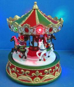 LEIDEN van Kerstmis Decoratie 12  Reuzenrad met Acht Liederen van Kerstmis