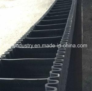 化学工業で使用される酸の抵抗力がある波形のサイドウォールのコンベヤーベルト