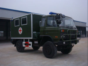 4WD High fuori da Road Feature Medical Truck per Military
