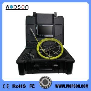 Drenaje tubo de Cámara de alcantarillado con 40m 7 pulgadas LCD, monitor y el cabezal de la cámara de metal