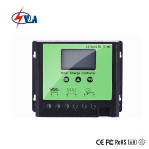 60Un PWM Controlador de carga solar Pantalla LCD 12/24/48 V