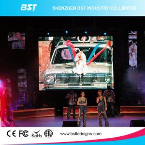 Аренда автомобилей с высоким разрешением P4.8mm дисплей со светодиодной подсветкой экрана для музыкальное шоу