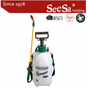 spruzzatore manuale della pompa dello zaino di compressione della pressione dell'aria della mano del giardino 5L (SX-CS5)