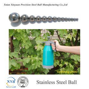 Acciaio inossidabile 304 sfere SS304 G100 G500 5mm 6.5mm 1.4301