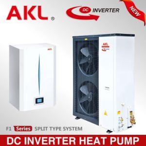 Inversor DC monobloco ar para água da bomba de calor (cinzas-55W/V)
