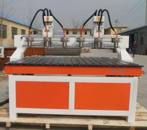 4 CNC van het Houtsnijwerk van de as de Machine van de Router voor Roterende Gravure