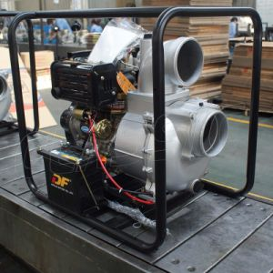 Bison 6 Zoll-elektrisches Anfangsbewegliche landwirtschaftliche Dieselwasser-Pumpen