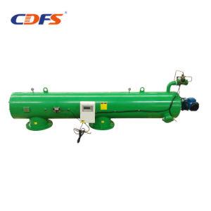 Aço inoxidável retrolavagem filtro para o sistema de água de refrigeração