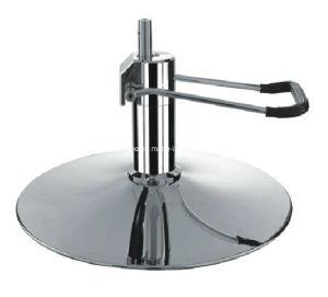 Styling chaise/Salon de Coiffure Président Président Base ronde Chrome (dB-02) pour la pompe hydraulique avec 6 trous meubles de salon de beauté de l'équipement accessoire