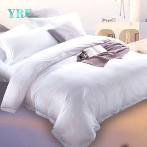 Yrfはデラックスな印刷の安い病院用ベッドシートのホテルによって合われたシートをカスタマイズした