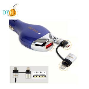 Для iPhone 8 Ios Micro-USB складной автомобильное зарядное устройство