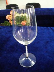 Vetro di vino di cristallo unico Handmade all'ingrosso (KS25197)