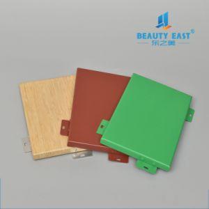 De alta calidad china PE/PVDF Revestimiento en polvo colorido Panel de aluminio decorativo