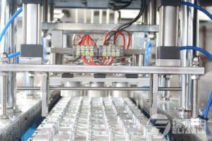 Coupelle en plastique automatique Machine d'emballage alimentaire de l'eau de remplissage