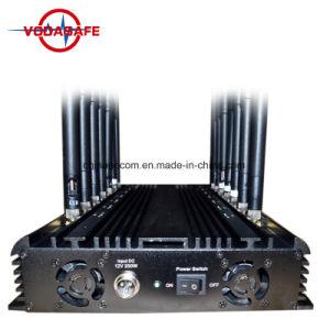 Emittente di disturbo da tavolino del telefono mobile di potere delle 14 fasce, professionista 433MHz, un'emittente di disturbo da 315 megahertz, emittente di disturbo per 3G, 4G, WiFi, uso di GPS per la stazione di servizio, stanza dell'esame
