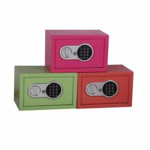Cofre eletrônico 0.5CF Caixa de fechadura digital com luz de instruções para o dinheiro cofre de segurança da pistola de passaporte jóias de Caixa