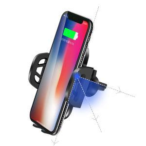 Держатель телефона зарядное устройство беспроводной связи для мобильных ПК для установки в IR автоматически открывать