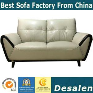 Sofà sezionale moderno del cuoio genuino della mobilia del salone (088)