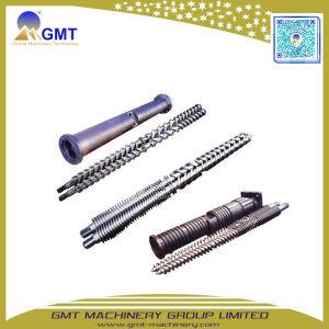 Fabricante único Concial bimetálica Paralelo Twin tornillo barril extrusora de