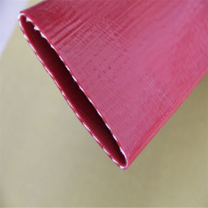 Pvc van de Fabriek van China legt Vlakke Slang/Zonnige Slang