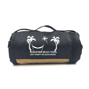 Venda por grosso de 75*130cm Ginásio Camurça Microfibra toalha de praia de desporto