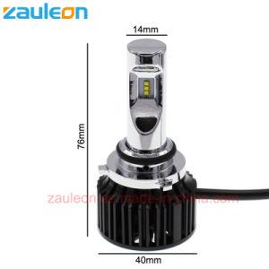 Hb4 9006 LEDの球根車のヘッドライトLuxeon Zesは2年の6000lmを保証欠く