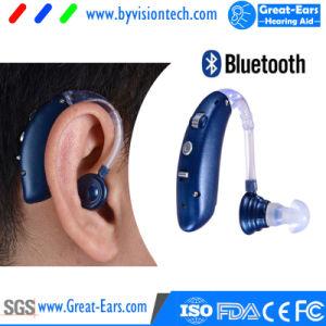 Amplificador de audición Oxsound Digital con auricular Bluetooth inalámbrico potenciador de la audiencia de televisión, música y Ancianos