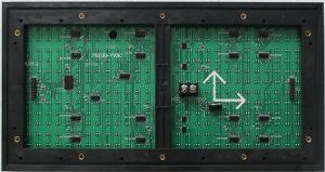 Whosale P10 sceglie la visualizzazione di LED rossa Cellboard con il prezzo di fabbrica