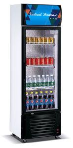 Vetrina verticale della bevanda del frigorifero del congelatore della visualizzazione con Ce (LG-280b)