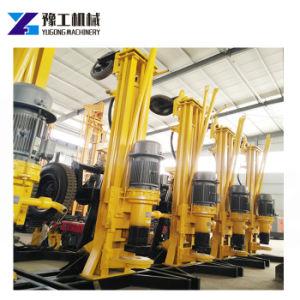 Piattaforma di produzione del pozzo d'acqua del pozzo trivellato DTH della macchina della roccia del trattore