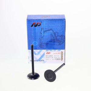 6D15 Klep van de Opname van de Motoronderdelen van het Graafwerktuig van de Apparatuur van de bouw de MiniEn de Klep van de Uitlaat