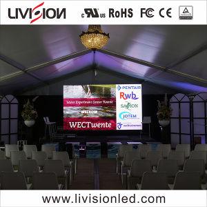Piscina Video wall P3.9/ P4.81 500x500mm Visor LED para o caso de bicicleta