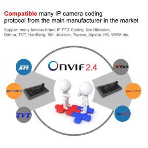 De Bedieningshendel van het Controlemechanisme van het Toetsenbord van kabeltelevisie 4D voor IP PTZ Camera