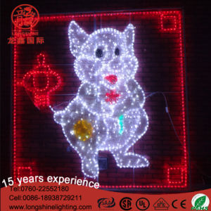 El chino los doce animales simbólicos para el Año Nuevo de las luces de la decoración exterior