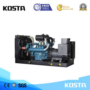 generatore diesel residenziale di 563kVA Doosan, gruppo elettrogeno diesel