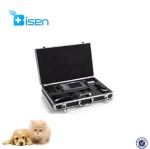 BS-V8携帯用手スキャン家畜の使用のポータブルのための獣医の超音波機械