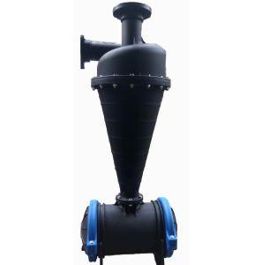 Agricultura plástico automática do filtro centrífugo de irrigação gota a gota de água