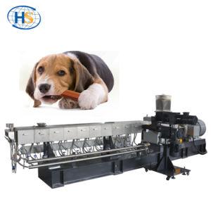 La nourriture pour chiens Aliments pour animaux de compagnie extrudeuse à double vis de la machine de décisions